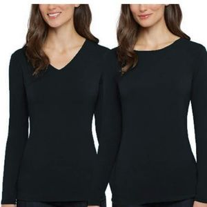 Ellen Tracy Ladies Reversible Long Sleeve Shirt